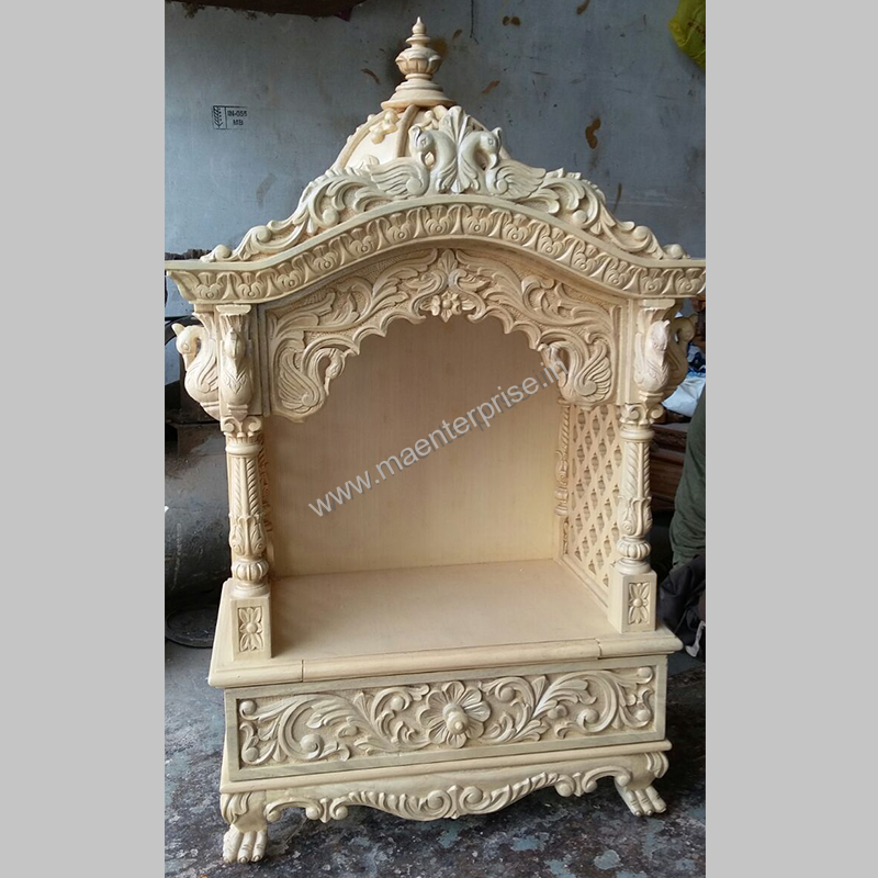 0b29c34a11a Small White Wooden Temples for Home