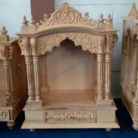 Indian Sevan Wood Temple for Home