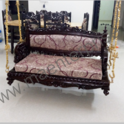 Royal Indian Traditional Wooden swing seats jhula_2