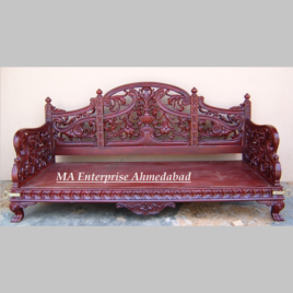 Traditional Wooden swing seats jhula for home