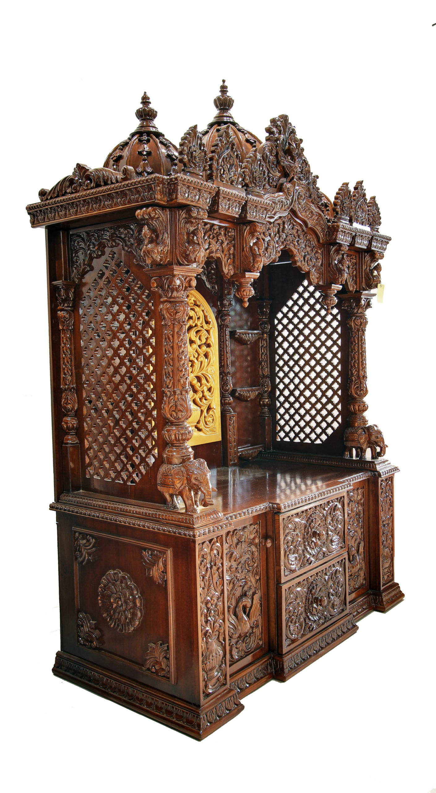 Best Quality Tallest Wooden Temple Made From Teak Wood